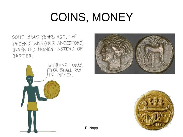 COINS, MONEY