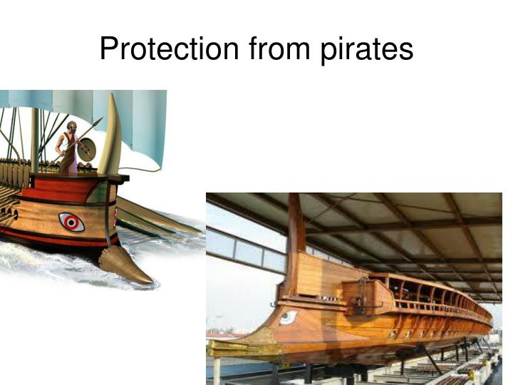 Protection from pirates