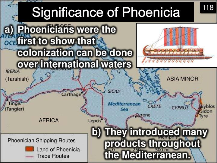 Significance of Phoenicia