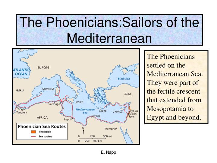 The Phoenicians:Sailors of the Mediterranean