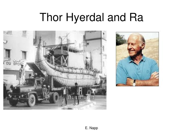 Thor Hyerdal and Ra