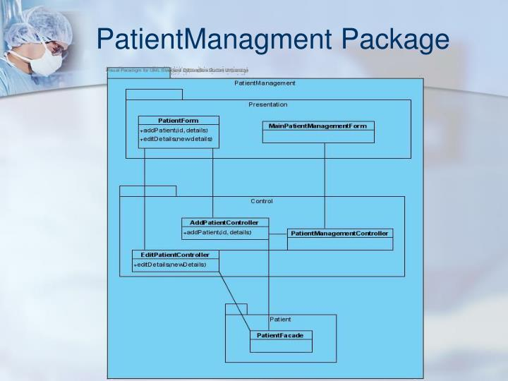 PatientManagment Package