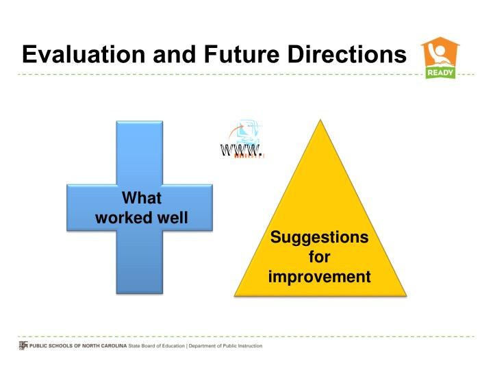 Evaluation and Future Directions