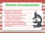 definire a microorganismelor