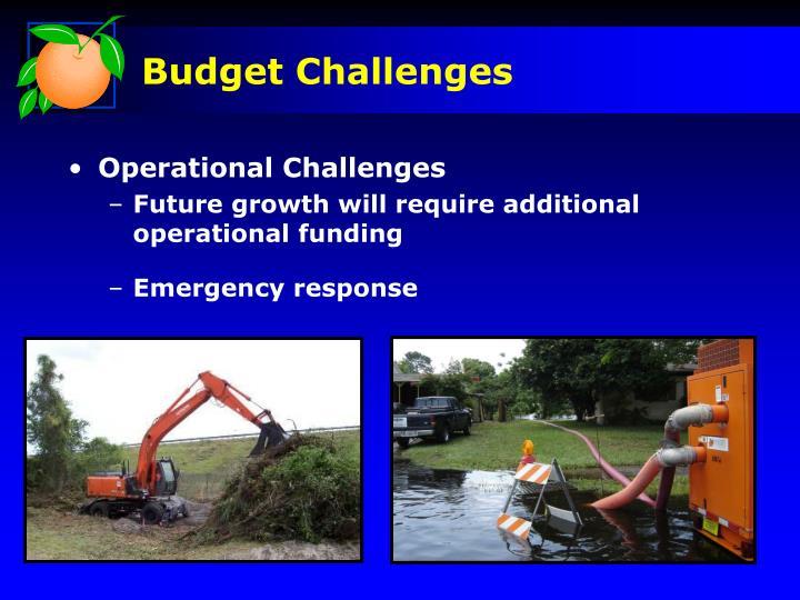 Budget Challenges