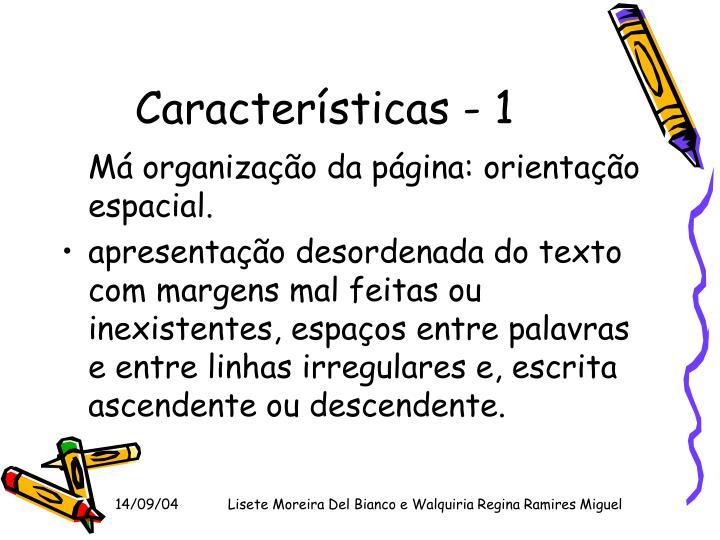 Características - 1