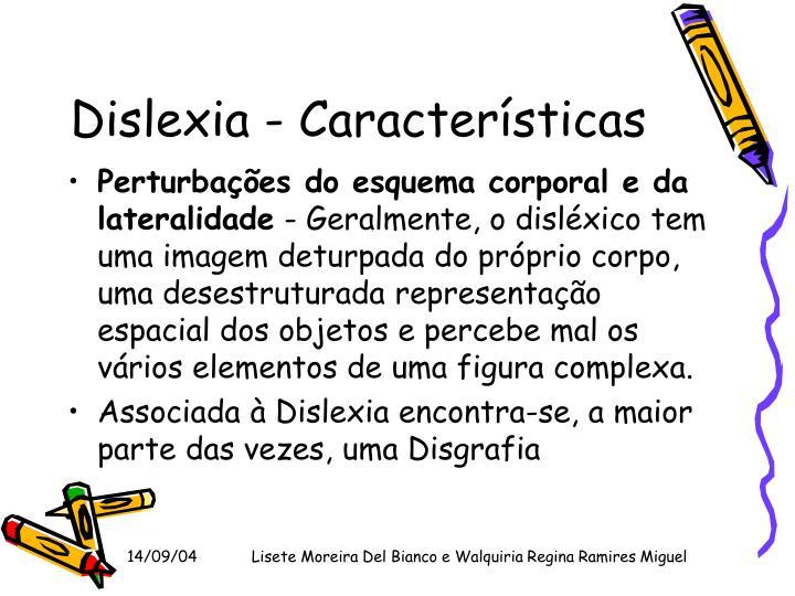 Dislexia - Características