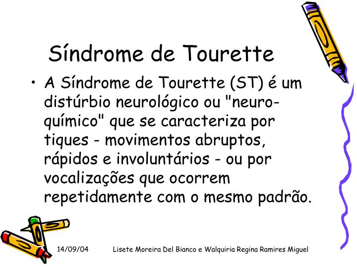 Síndrome de Tourette