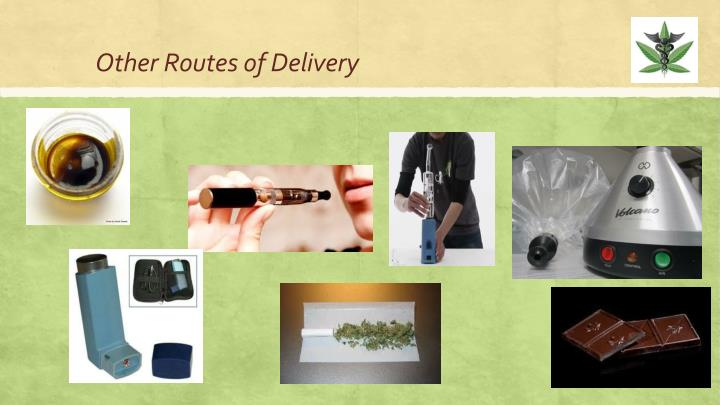 Other Routes of Delivery