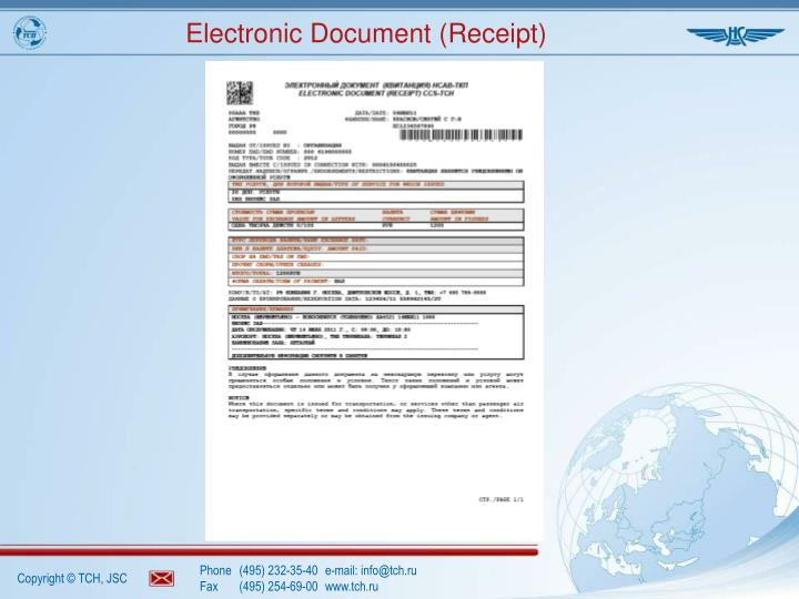 Electronic Document