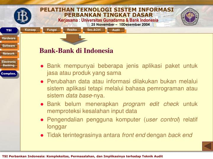 Bank-Bank di Indonesia
