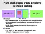 multi block pages create problems in shared caching
