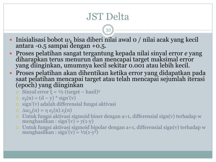 JST Delta