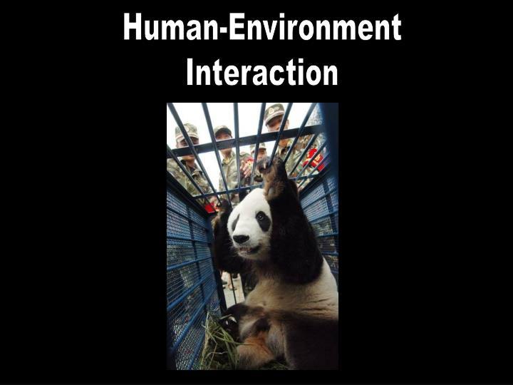 Human-Environment