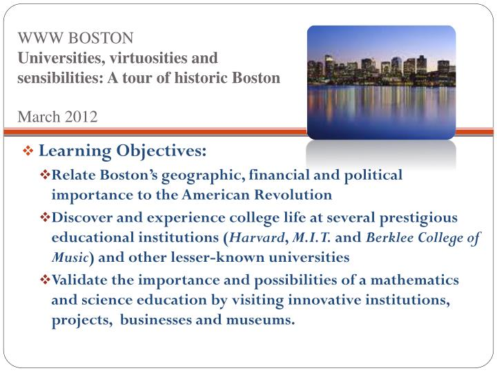 WWW BOSTON