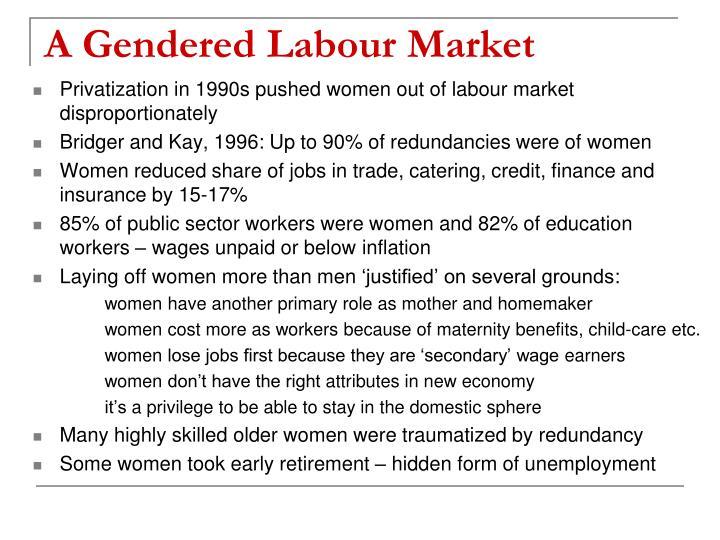 A Gendered Labour Market