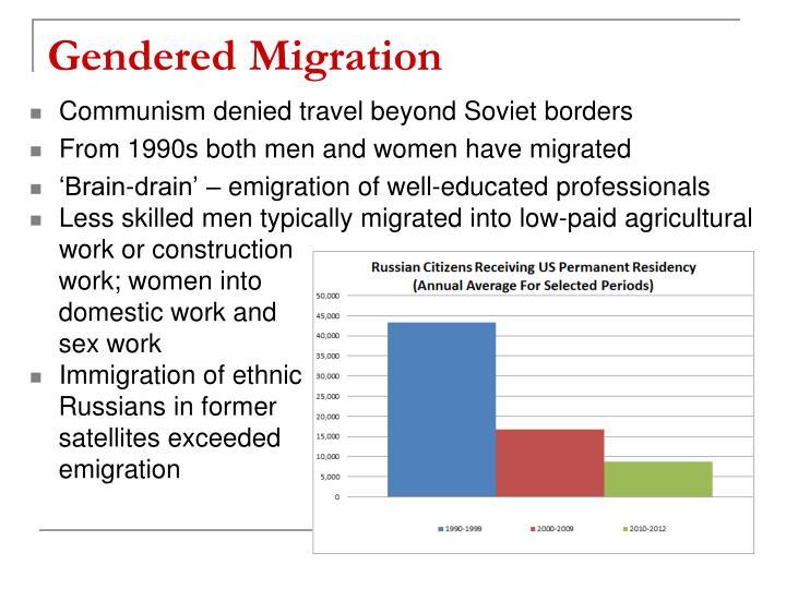 Gendered Migration