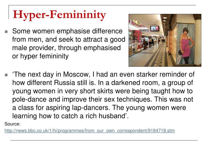 Hyper-Femininity