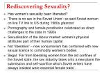 rediscovering sexuality