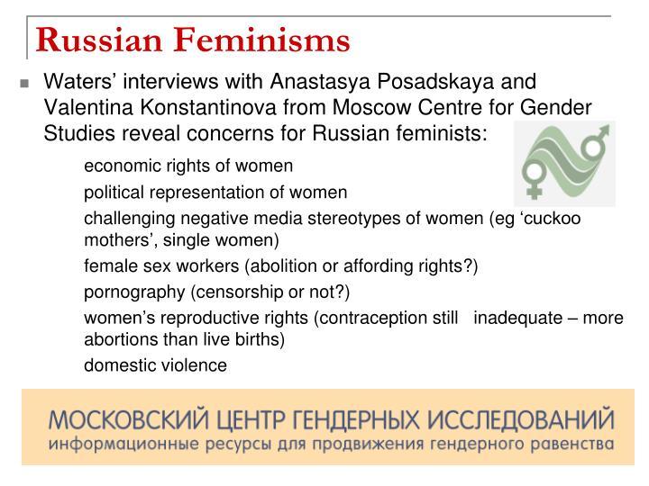 Russian Feminisms