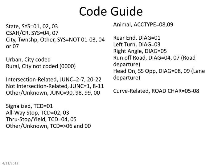 Code Guide