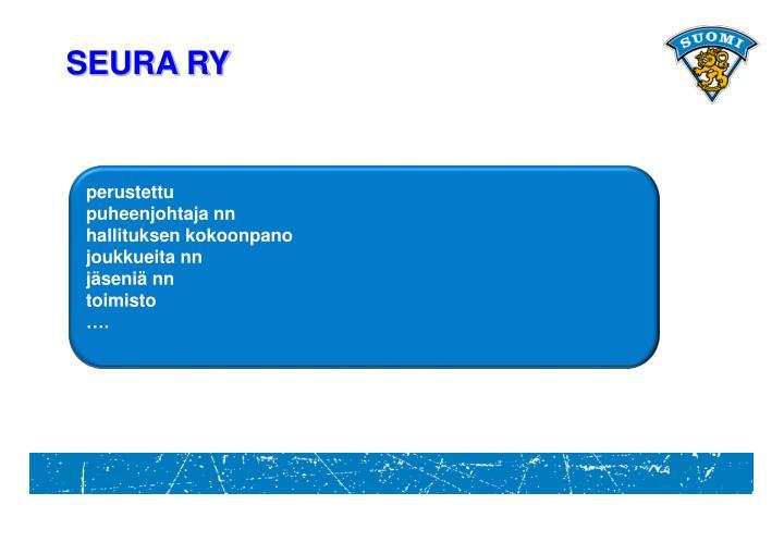 SEURA RY