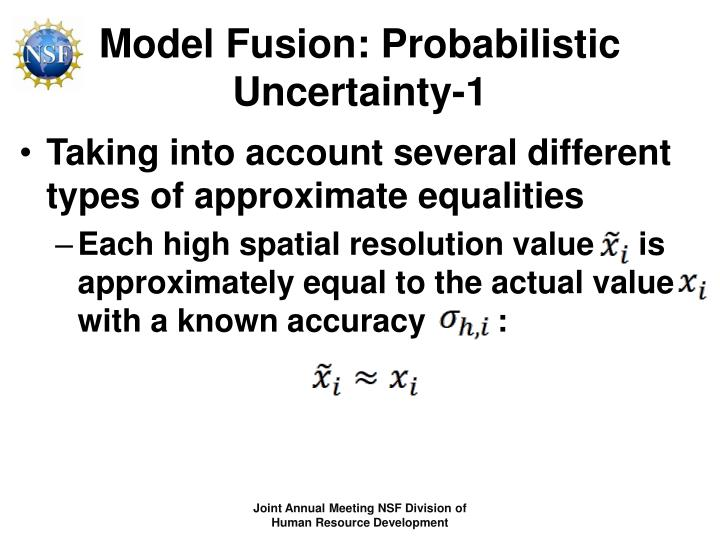 Model Fusion: Probabilistic Uncertainty-1