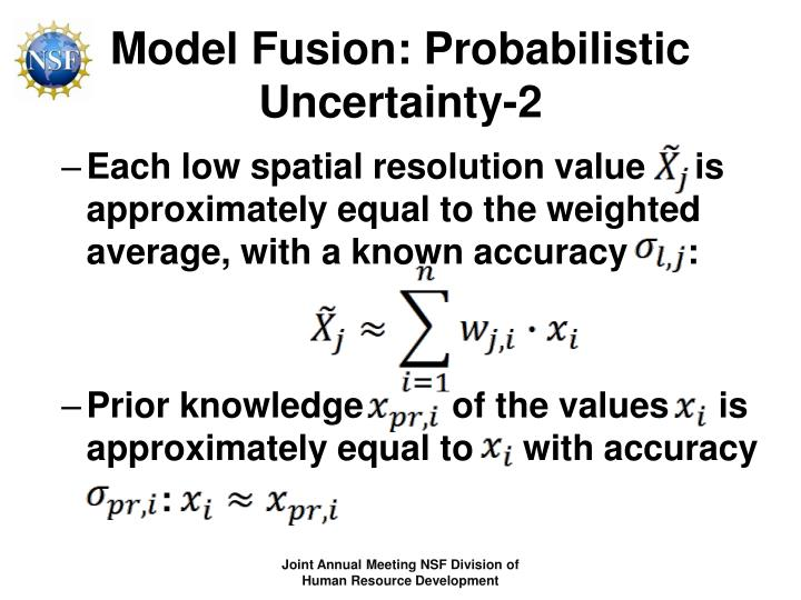 Model Fusion: Probabilistic Uncertainty-2