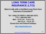 long term care insurance ltci