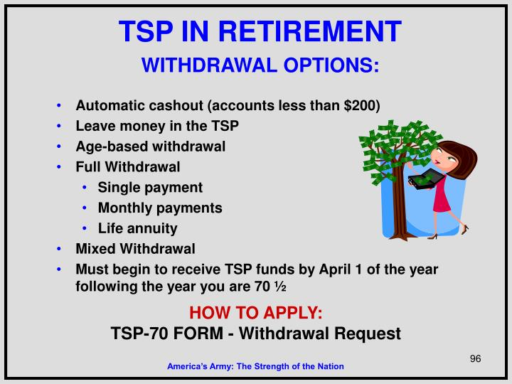 TSP IN RETIREMENT