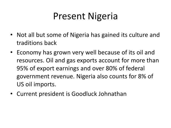 Present Nigeria