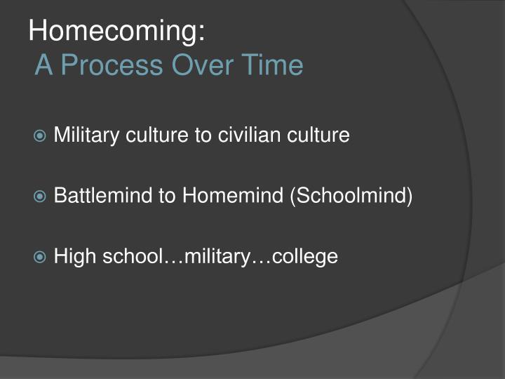 Homecoming: