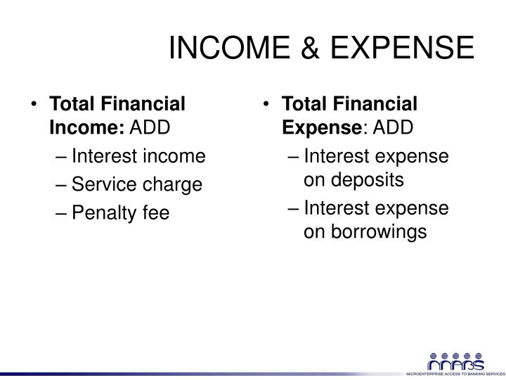 Total Financial Income:
