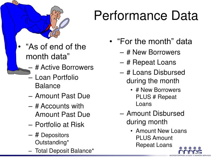 """""""As of end of the month data"""""""