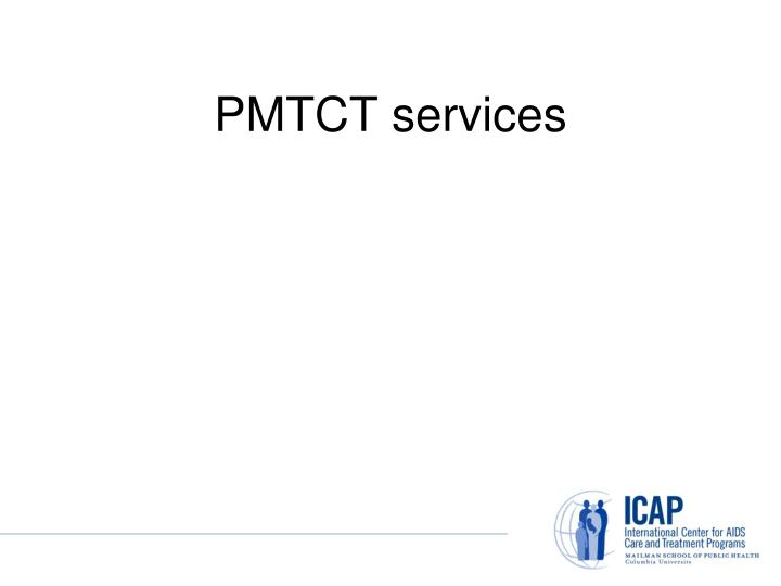 PMTCT services