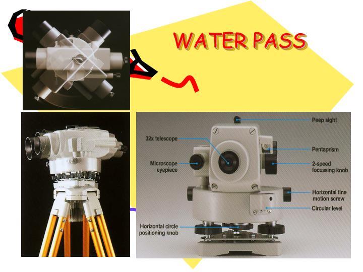 WATER PASS