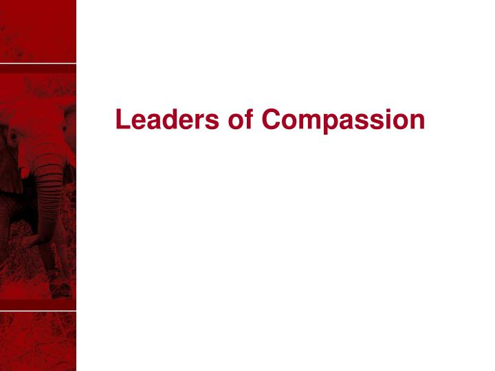 Leaders of Compassion