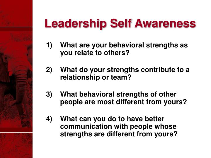 Leadership Self Awareness