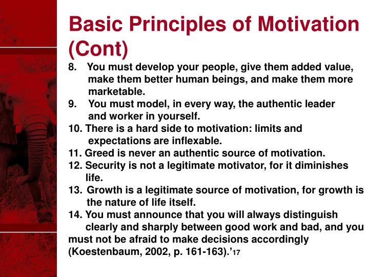 Basic Principles of