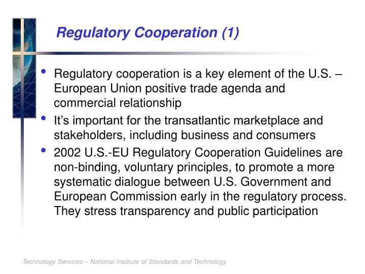 Regulatory Cooperation (1)
