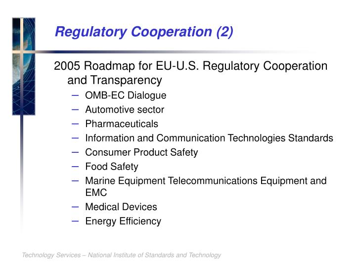 Regulatory Cooperation (2)