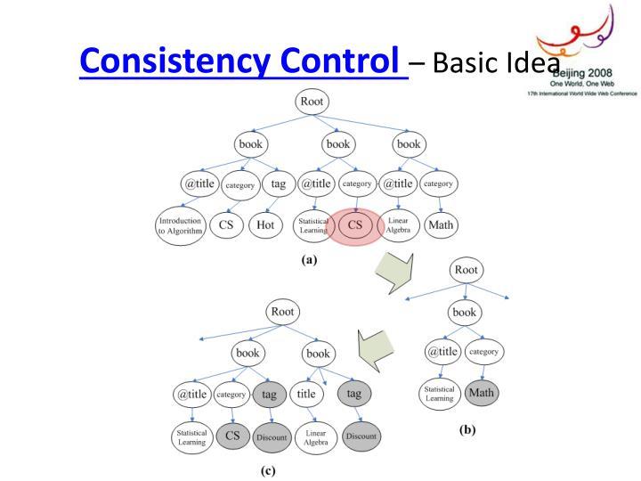 Consistency Control
