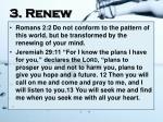 3 renew