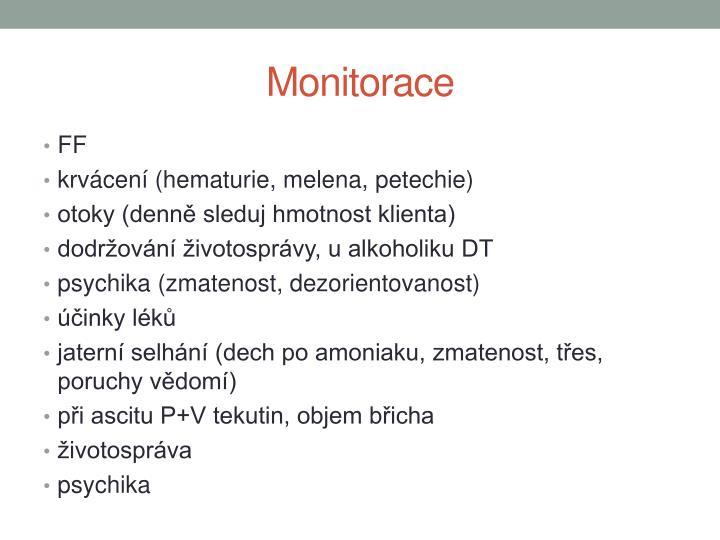 Monitorace
