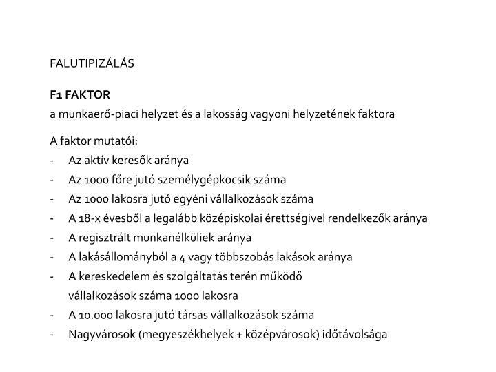 FALUTIPIZÁLÁS