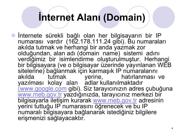 nternet Alan (Domain)