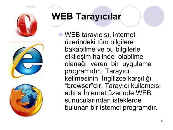 WEB Tarayclar