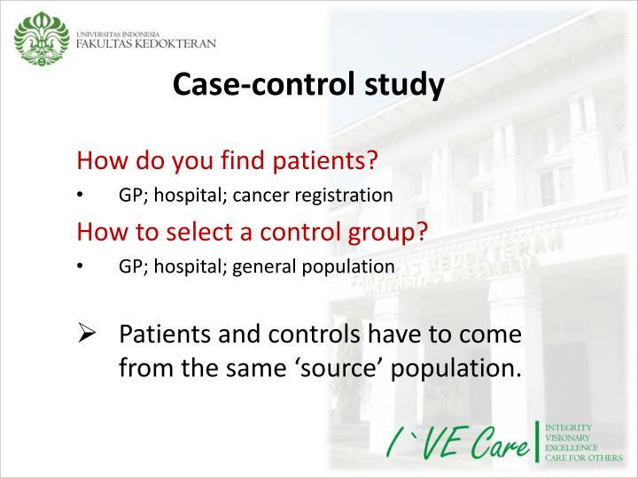 Case-control study