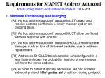 requirements for manet address autoconf draft jeong manet addr autoconf reqts 01 txt 2 3