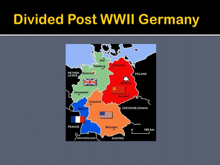 Divided Post WWII Germany